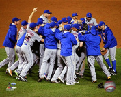 New York Mets 2015 NLCS Game 4 Celebration Photo (Size