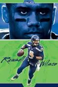 Trends International RP14979 Wall Poster Seattle Seahawks Russell Wilson,,60cm X 90cm