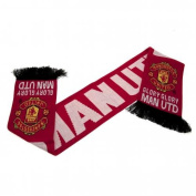 """Manchester United FC Authentic EPL """"Glory Glory"""" Scarf"""
