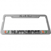 Miami Hurricanes Tag Frame