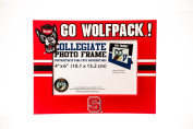 NORTH CAROLINA STATE WOLFPACK NCAA PVC PHOTO FRAME