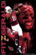 Trends International RP13653 Arizona Cardinals Larry Fitzgerald Wall Poster, 60cm x 90cm