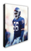 """NFL New York Giants Lawrence Taylor Beautiful Gallery Quality, High Resolution Canvas, 16"""" x 20"""""""