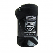Officially Licenced NHL Fade Away Fleece Throw Blanket - Los Angeles Kings