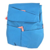 """Backpack 'Hedgren'turquoise - 35x32x12 cm (13.78""""x12.60""""x4.72"""")."""