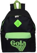 Gola Women's Cross-Body Bag BLACK/NEON GREEN