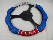 Cuba Bandera Steering Wheel Cover for Car or Pick Up Truck Fancy