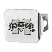 FANMATS 19242 Mississippi State Hitch Cover , Team Colour, 8.6cm x 10cm