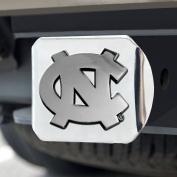 FANMATS NCAA UNC University of North Carolina - Chapel Hill Tar Heels Chrome Hitch Cover, Model