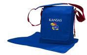 NCAA Kansas Jayhawks Messenger Nappy Bag, 13.25 x 31cm x 15cm , Blue