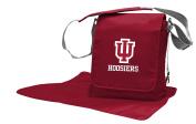 NCAA Indiana Hoosiers Messenger Nappy Bag, 13.25 x 31cm x 15cm , Red