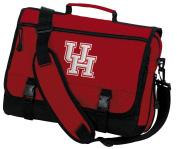 University of Houston Laptop Bag UH Messenger Bag or Computer Bag