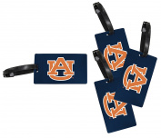 Auburn Tigers Luggage Tag 4-Pack