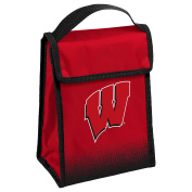 NCAA Wisconsin Badgers Hook and loop Lunch Bag, One Size