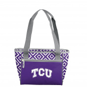 NCAA Tcu Horned Frogs Unisex 16 Can Cooler Tote16 Cooler Tote, Purple, 0