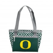 NCAA Oregon Ducks Unisex 16 Can Cooler Tote16 Cooler Tote, Green, 0