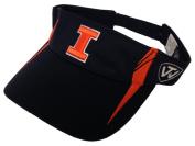 Illinois Fighting Illini TOW Navy Range V Adjustable Golf Visor Hat Cap