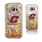 Central Michigan Chippewas Gold Glitter Galaxy S7 Case NCAA