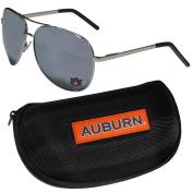 NCAA Auburn Tigers Aviator Sunglasses & Zippered Carrying Case
