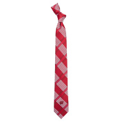 University of Wisconsin Skinny Plaid Tie