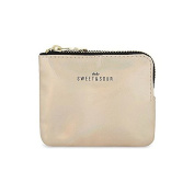 Sweet And Sour Iridescent Zipped Pouch