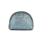 Sweet And Sour Semi-Circle Glitter Make-Up Bag