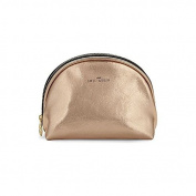 Sweet And Sour Semi-Circle Copper Make-Up Bag