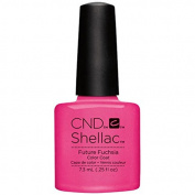 CND Shellac Future Fuschia Gel Nails