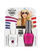 Harmony Gelish Two of A Kind Nail Gel, Girls Love Bouys Plus Free Gold Toned Anchor Anklet
