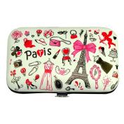 Souvenirs of France - Paris Eiffel Tower Manicure Kit - White