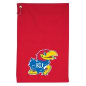 NCAA Kansas Jayhawks Coloured Sports Towel with Grommet, 41cm x 60cm