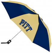 NCAA Pittsburgh Panthers Auto Folding Umbrella, Multicolor
