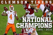 Clemson Tigers National Champions Poster