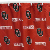 College Covers Oklahoma Sooners Printed Shower Curtain Cover, 180cm x 180cm