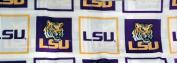 LSU Louisiana Tigers Fabric Shower Curtain