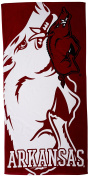 The Northwest Company NCAA Arkansas Razorbacks Colossal Oversized Beach Towel, 90cm by 180cm