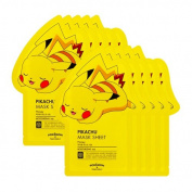 TONYMOLY x Pokemon Pikachu Mask Sheet Pack of 10