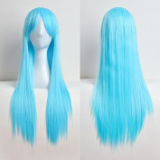 Womens Wig,Clode® Fashion Popular Ladies Girls 80cm Full Wig Long Straight Wig Cosplay Party Costume Hair