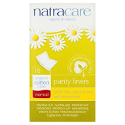 Natracare Organic Cotton Panty Liners - Normal Single Wrapped 18 per pack