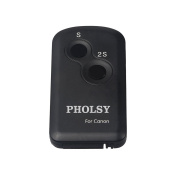 PHOLSY IR Wireless Shutter Remote Control for Canon Cameras, Replaces Canon Remote Controller RC-6