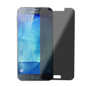 Samsung Galaxy A8 Privacy Protector real glass darkened Screen Protector 9H Tempered Glass by PhoneStar