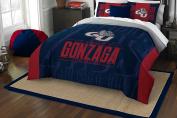 NCAA Gonzaga Bulldogs Modern Take Two Sham Set, Navy Blue, Full/Queen Size