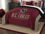 NCAA Boston College Eagles Modern Take Two Sham Set, Maroon, Full/Queen Size
