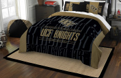 NCAA Central Florida Golden Knights Modern Take Two Sham Set, Black, Full/Queen Size