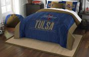 NCAA Tulsa Golden Hurricane Modern Take Two Sham Set, Old Gold, Full/Queen Size