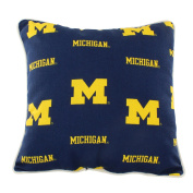 College Covers MICODP Michigan Wolverines Outdoor Decorative Pillow, 41cm x 41cm , Blue
