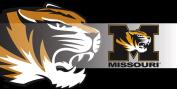 University of Missouri Tigers Sassafras Decorative Floor Mat Insert