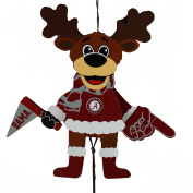 Alabama Crimson Tide Official NCAA Holiday Christmas Ornament Cheering Reindeer by Forever Collectibles 498308