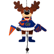 Florida Gators Official NCAA Holiday Christmas Ornament Cheering Reindeer by Forever Collectibles 498414