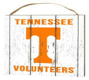 KH Sports Fan 1000102468 10cm x 14cm Tennessee Volunteers Weathered Logo Small Collage Plaque